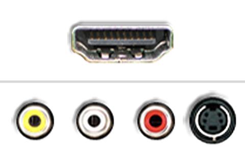 HDMI til AV/S-Video