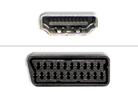 HDMI til SCART