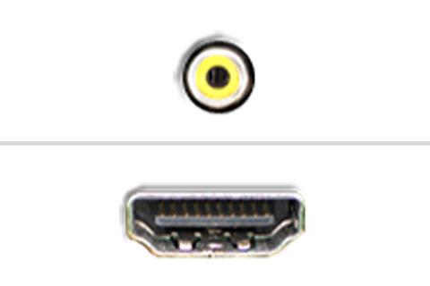 Komposite til HDMI