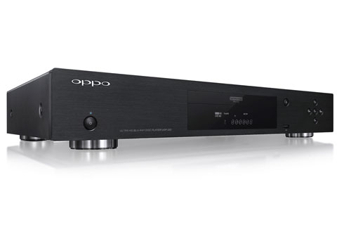 Oppo UDP-203 Ultra HD afspiller, side view