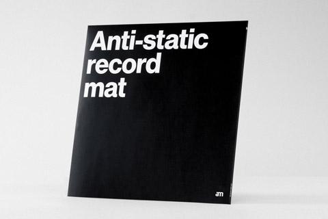 AM anti static record mat