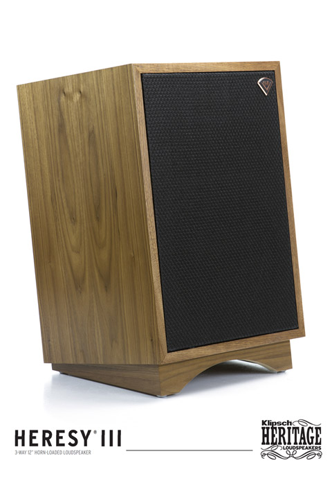 Klipsch Heresy III, walnut