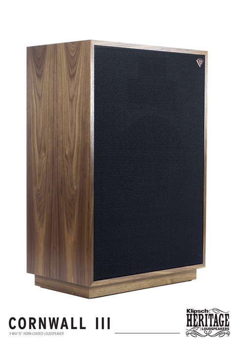 Klipsch Cornwall, walnut