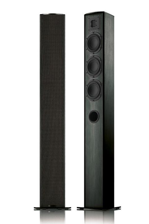 Piega TMicro 60 AMT gulvhøjttalere, sort eller hvid (pris pr. sæt)