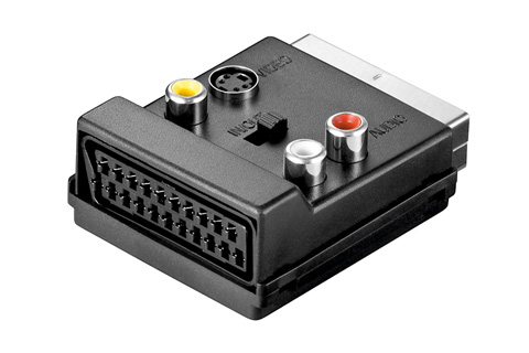 Scart multi adapter