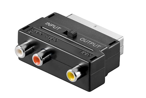Scart til Phono adapter