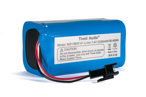 Tivoli Audio Batteri til Music System Three