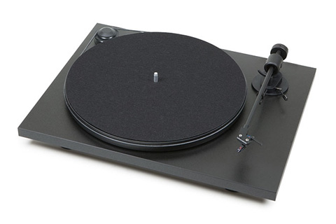 - Pro-Ject Primary pladespiller, sort mat