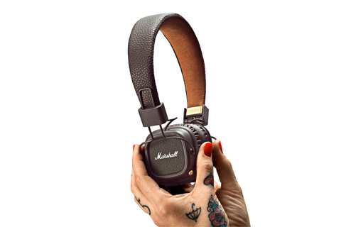Marshall Major II Bluetooth, brown