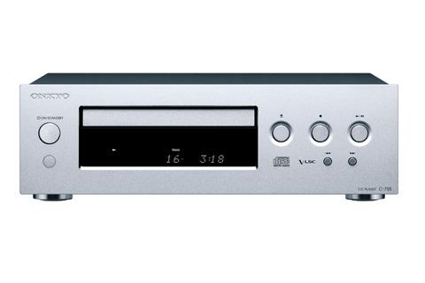 Onkyo C-755 CD-afspiller, sølv