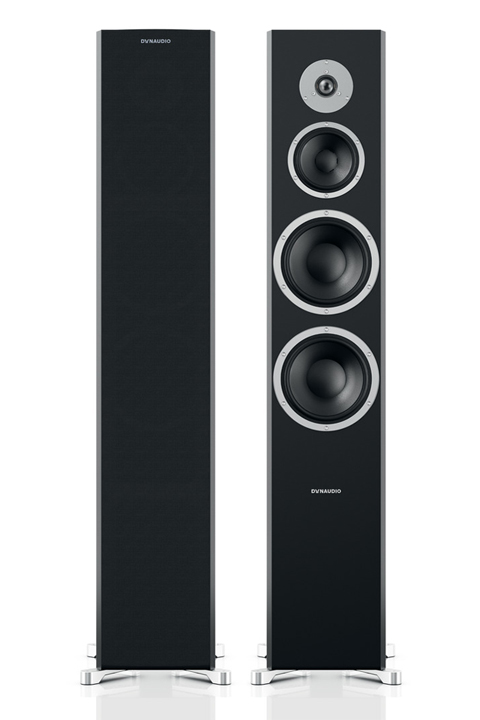 Dynaudio Excite X44 floor speakers, black,  1 pair