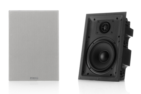 PIEGA In-wall 6.5'' speaker with rear plastic housing