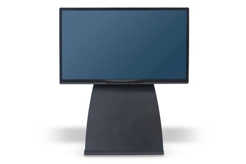 Alpha Home Medium TV Gulvstand, sort