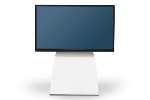 - Alpha Home Medium TV Gulvstand, hvid