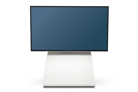 Alpha Home Premium TV Gulvstand, hvid