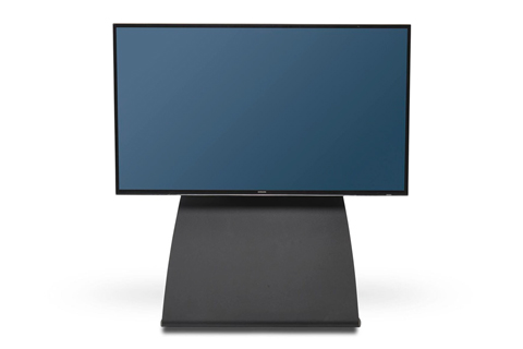 Alpha Home Premium TV Gulvstand, sort