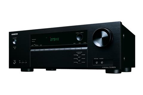 - Onkyo TX-NR474 surround receiver, sort