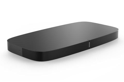 Sonos PLAYBASE er den ultimative lyd opgradering til hvilket som helst TV. PLAYBASE leverer en kraftfuld 3.1 lydgengivelse fra 10 højttalerenheder.