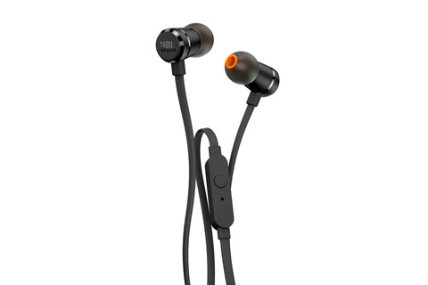 JBL T290 in-ear hovedtelefoner, sort