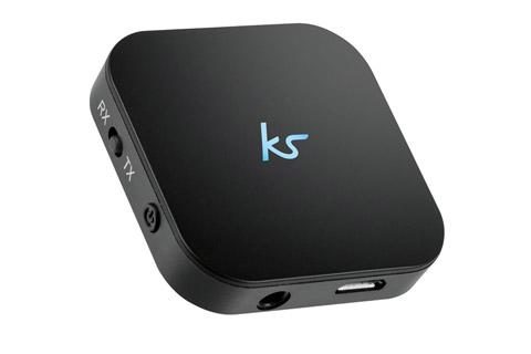 Kompakt bluetooth adapter til streamning af musik fra smartphones/tablet til anlæg. Adapteren har indbygget batteri og kan også fungere som BT sender.