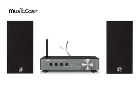 Yamaha MusicCast SA Saxo 1 streaming anlæg inkl. kabler