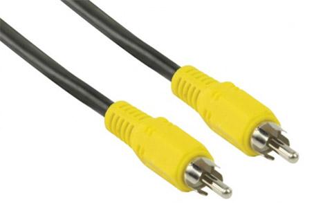 Standard koaxialt komposit video kabel til forbindelse af forskelligt AV udstyr. Kablet leveres i 2 meters længde.