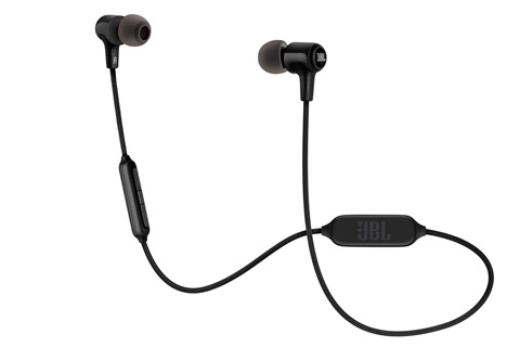 JBL E25BT in-ear hovedtelefoner, sort