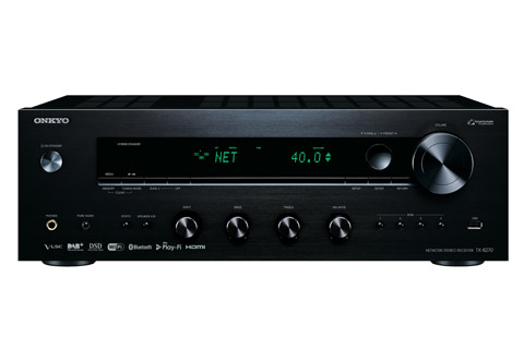 Onkyo TX-8270 stereo receiver, sort