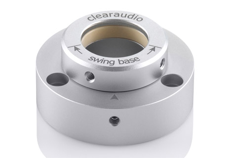Clearaudio Swingarm base silver