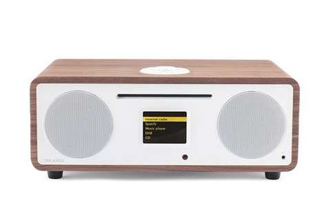 - Tiny Audio Wide bordradio, valnød