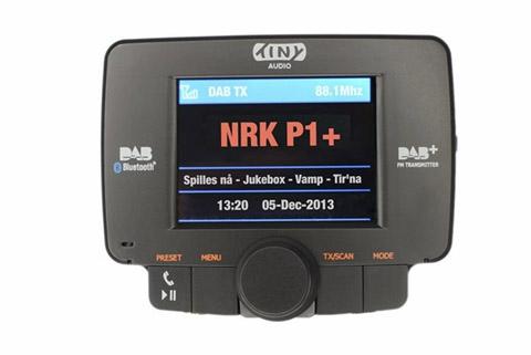 Tiny Audio C3 DAB+ adapter til bil