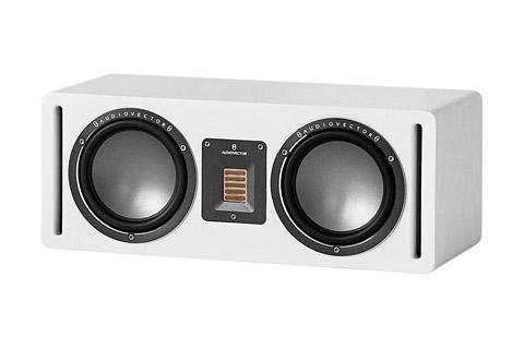 Audiovector QR Center hojttaler, hvid