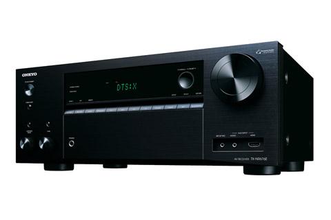 - Onkyo TX-NR676E Surround receiver, black