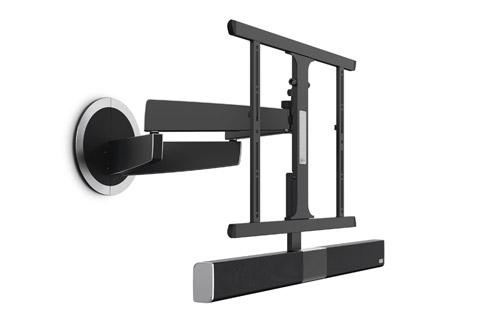 MotionSoundMount er et fleksibelt motoriseret TV beslag med en integreret soundbar og trådløs subwoofer.