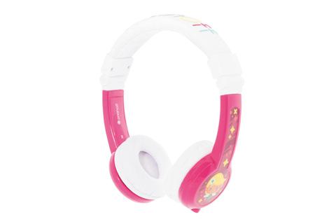 BuddyPhones Explore foldbar børnehovedtelefoner, pink