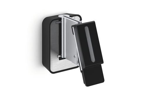 Universalt højttalerbeslag i et elegant design fra Vogels. Sound 3200 har trinvis tiltfunktion og kan dreje op til 70°. Kan bære en højttaler på op til 5 kg.