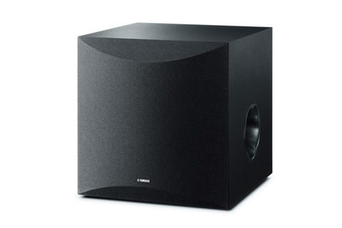 Yamaha NS-SW100 subwoofer, sort