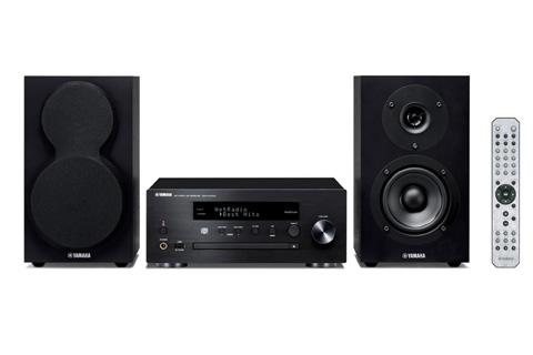 Yamaha MCR-N470D stereoanlæg, sort