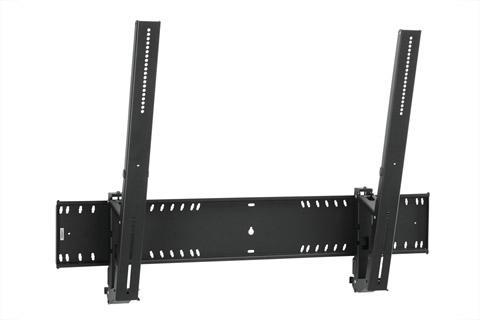 PFW 6910 er et robust, men elegant vippeligt vægbeslag. Beslaget er udstyret med en let tilgængelig integreret lås og kan samtidig vippe skærmen 15 grader.