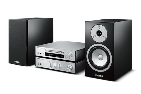 Yamaha MCR-N670D stereoanlæg, sølv