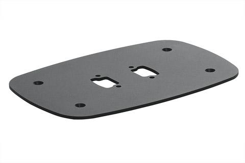 PFF 7060 gulvplade giver dig mulighed for at sammensætte en stander løsning til skærme og monitors.