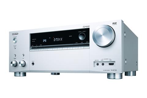 - Onkyo TX-RZ720 surround receiver, sølv