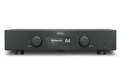 Hegel H90 forstærker, sort