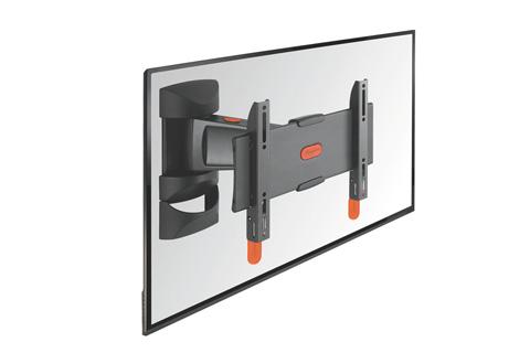 Vogels BASE 25-S er et TV vægophæng med 2 drejeled (op til 120 grader), der passer til fladskærme i størrelsen 19-40