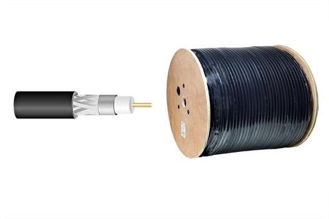 dobbelt skærmet MLL-400 halogenfrit 50 ohms kabel (Ø10,29 mm)
