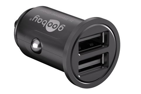Dobbelt USB oplader til bil