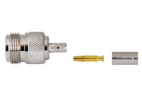 N-0 female crimp for LMR/MLL-200
