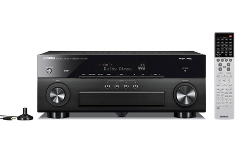 Yamaha RX-A870 Surround receiver, alu sort