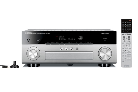 Yamaha RX-A870 Surround receiver, alu titan