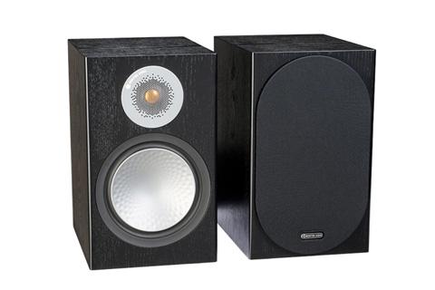 Monitor Audio Silver 100 reol højttaler, sort ask